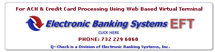 electronic payments processing